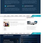 Сайт для транспортной компании pro100voz